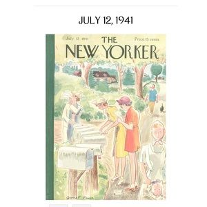 1941 JULY 12 THE NEW YORKER MAGAZINE